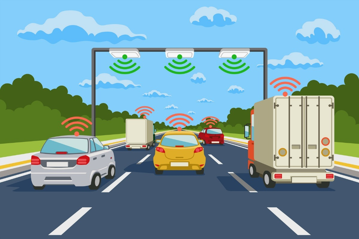 کنترل جریان ترافیک هوشمندانه