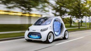 خودروهای خودران الکتریکی