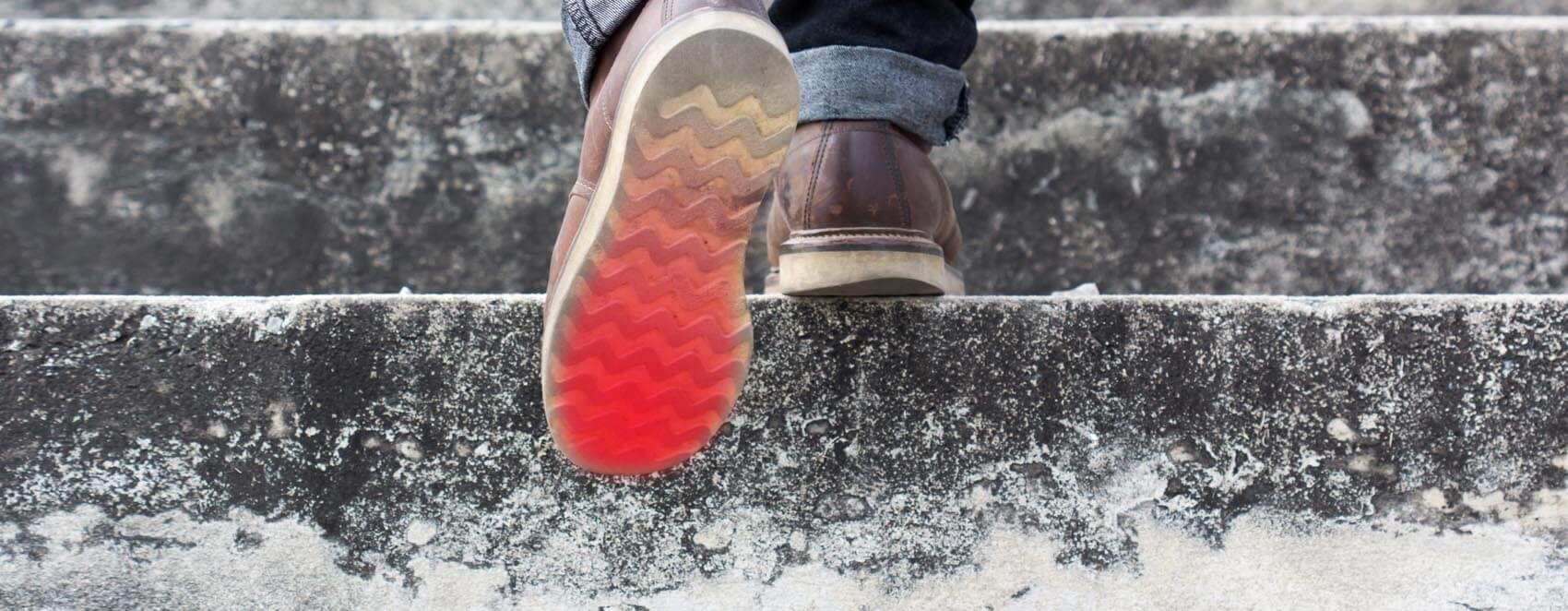 مزایای یک کفش هوشمند