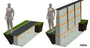 دیوار هوشمند برای مقابله با سیل