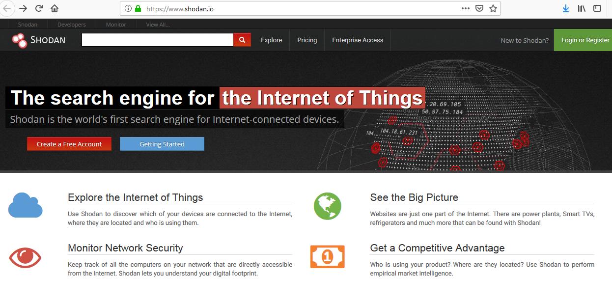 شودان یک موتور جستجو اینترنت اشیا