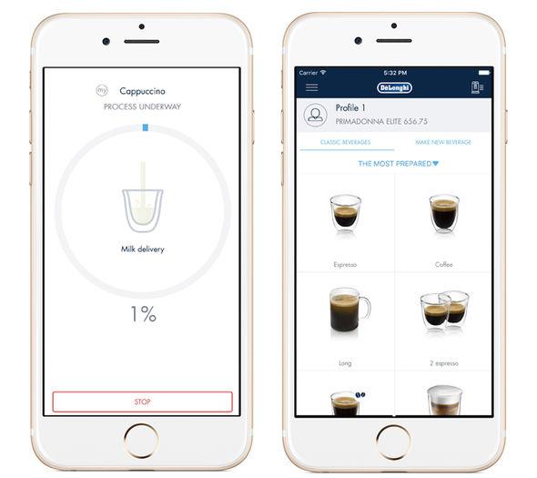 کنترل قهوه ساز هوشمند