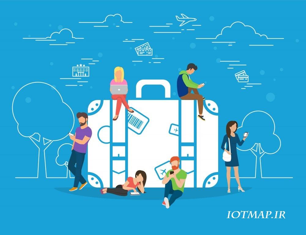 اینترنت اشیا در صنعت گردشگری