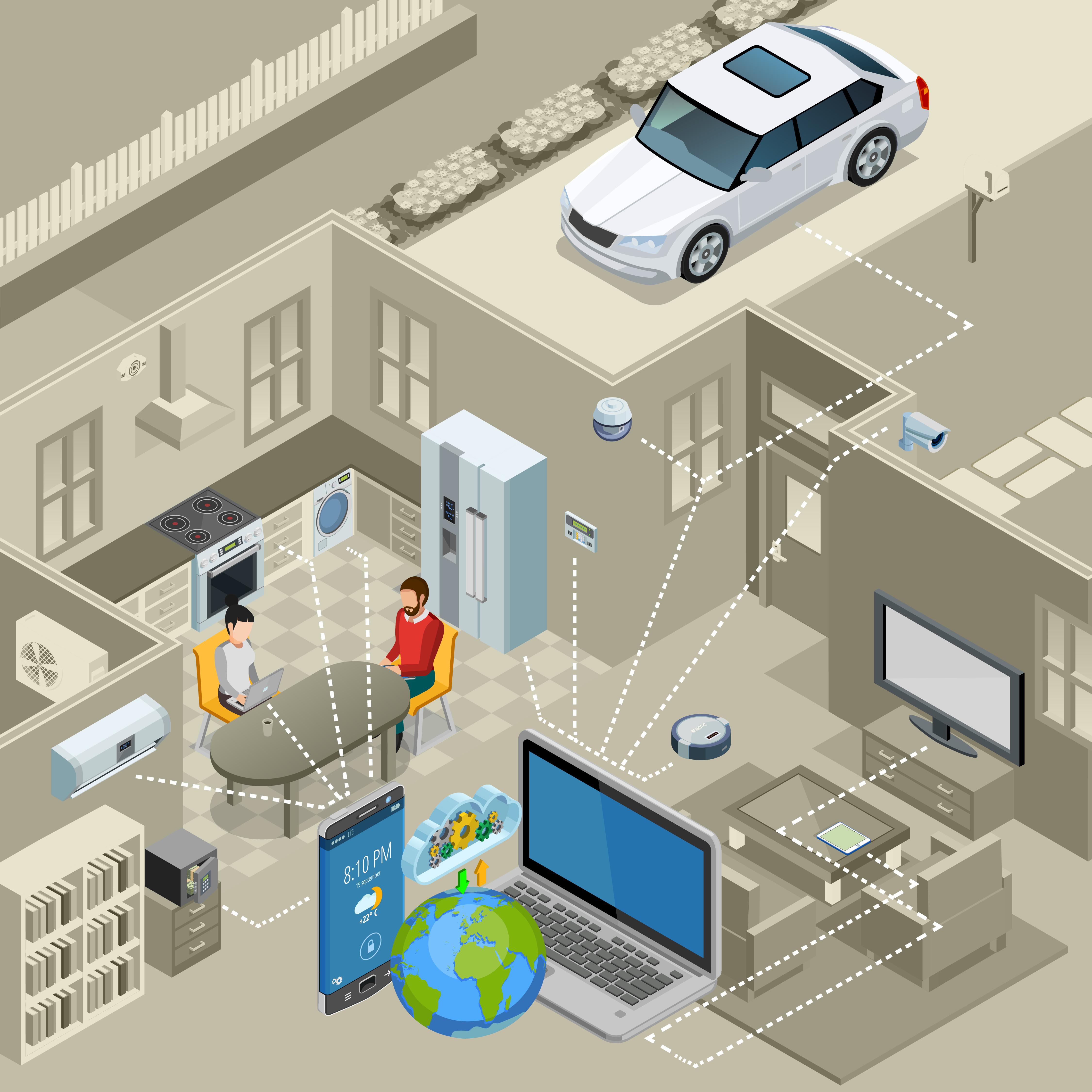 سیستم های هوشمند سازی خانه