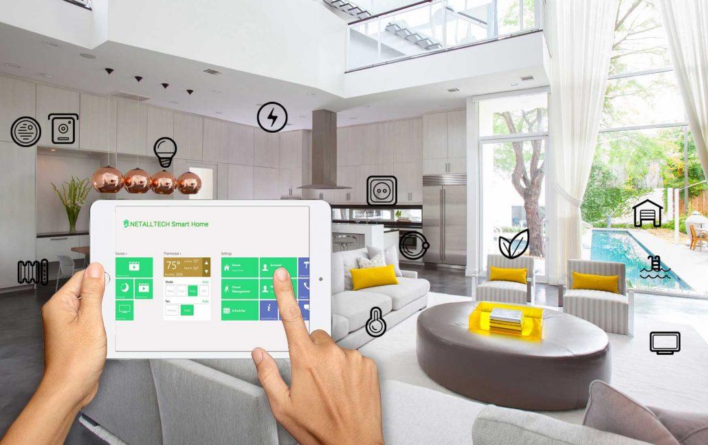 کنترل مرکزی خانه هوشمند