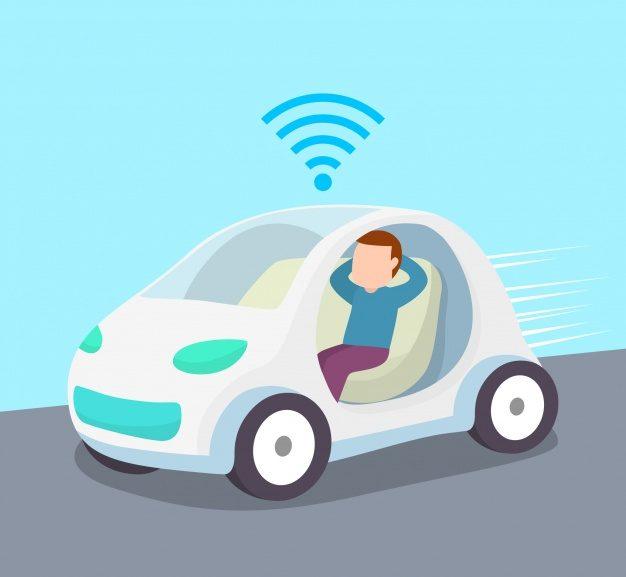 autonomous-car-concept-with-flat-design_23-2147873108
