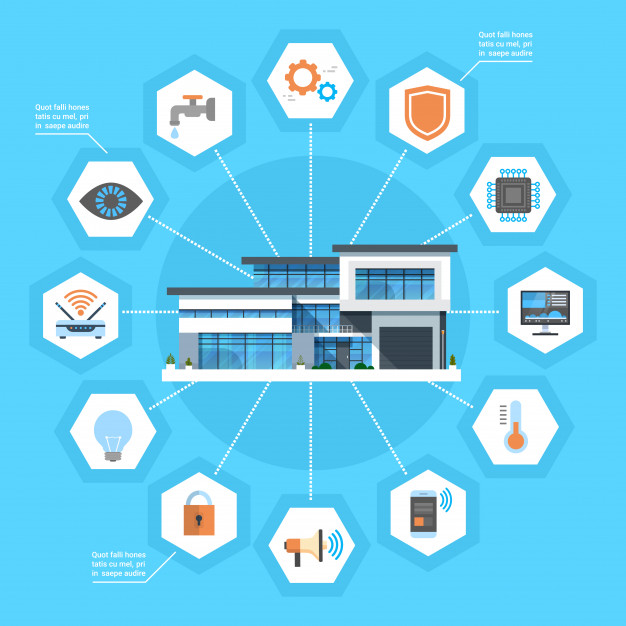 smart-home-concept-infographics-modern-house-technology-system-with-centralized-control-icons-banner_48369-13986