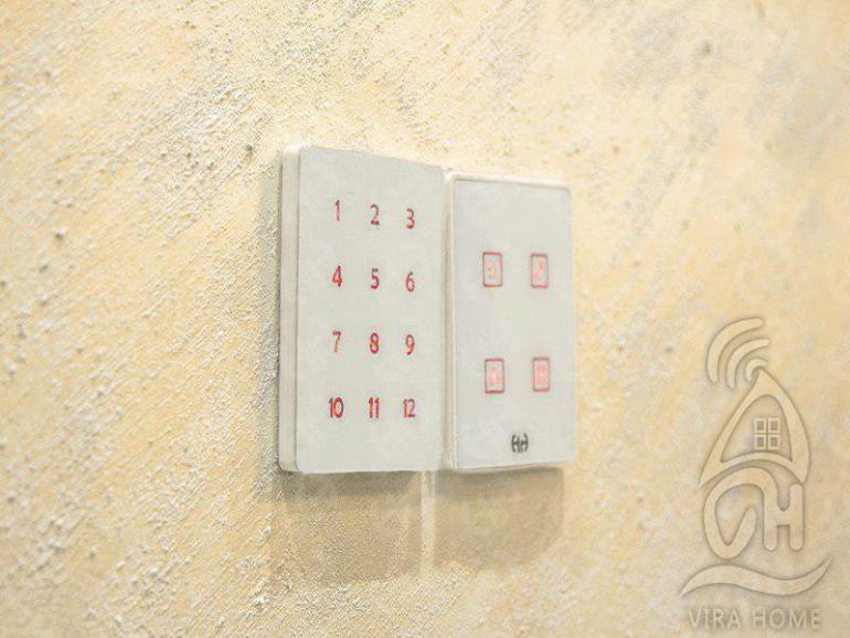 کلید لمسی در خانه هوشمند