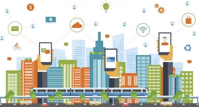 نقش اینترنت اشیا در شهر هوشمند