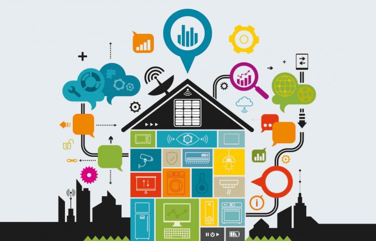 خانه هوشمند با اینترنت اشیا