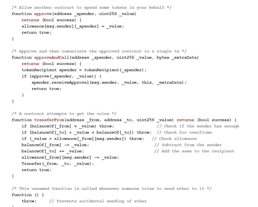 کد قراردادهای هوشمند