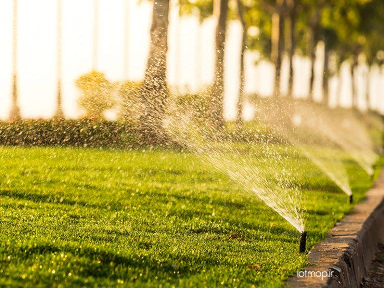آشنایی با آبیاری هوشمند درختان و گیاهان شهری