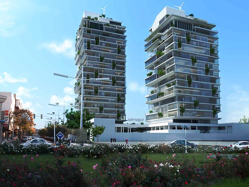 برج های مسکونی هوشمند در مشهد
