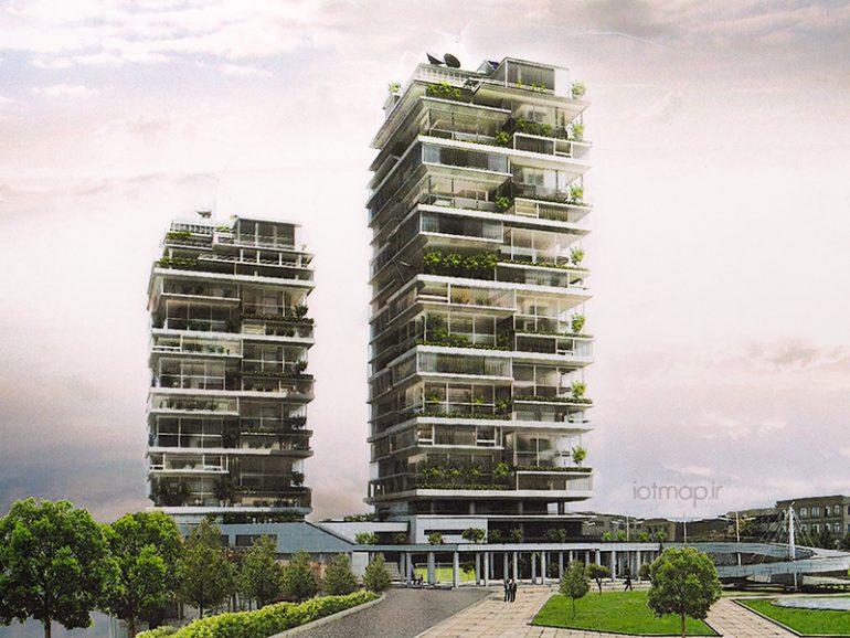 آشنایی با برج های مسکونی هوشمند در مشهد
