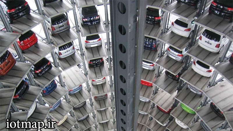 سیستم-مکانیزه-پارکینگ-برجی-iotmap.ir