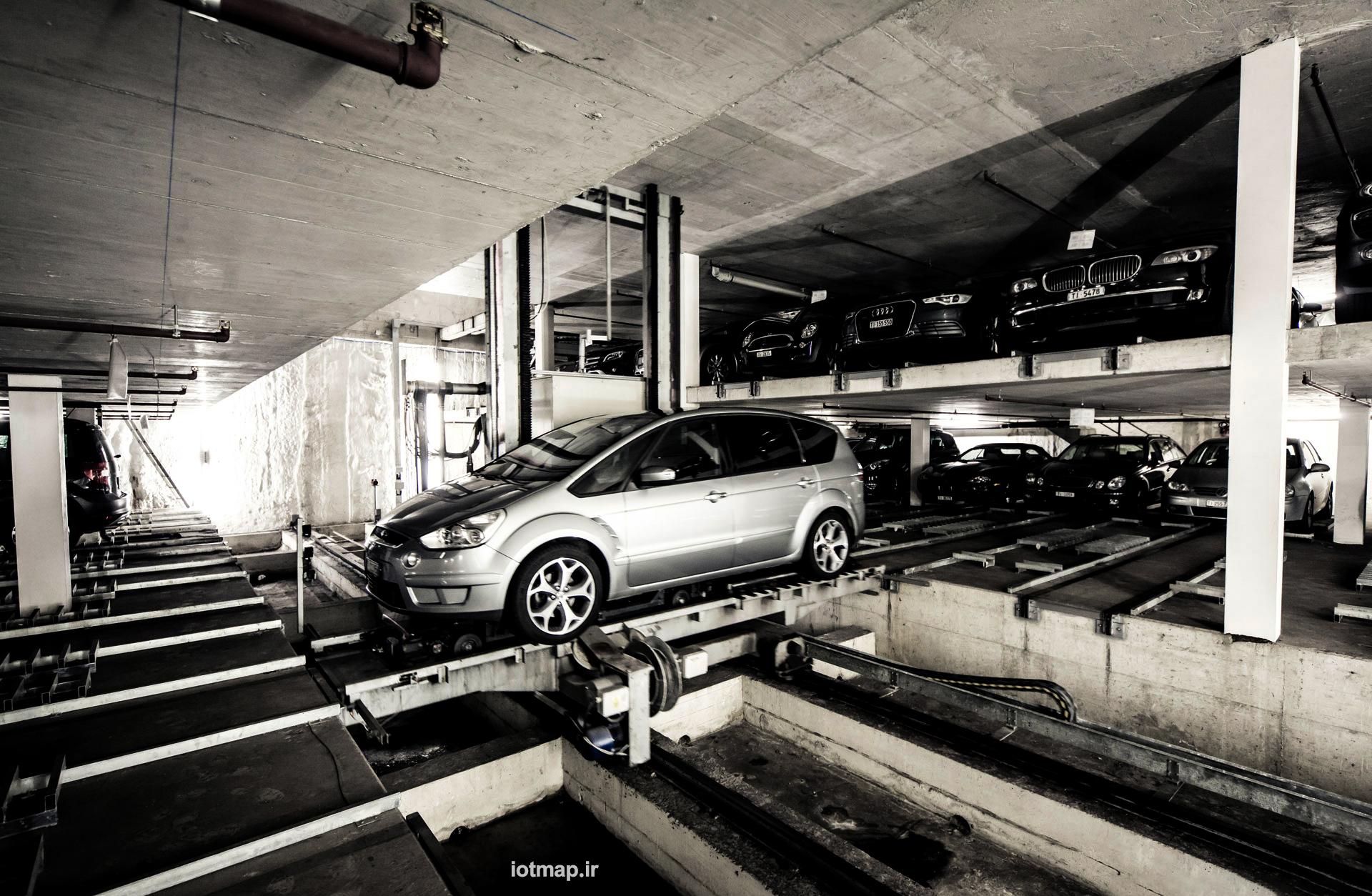 پارکینگ مکانیزه مسکونی