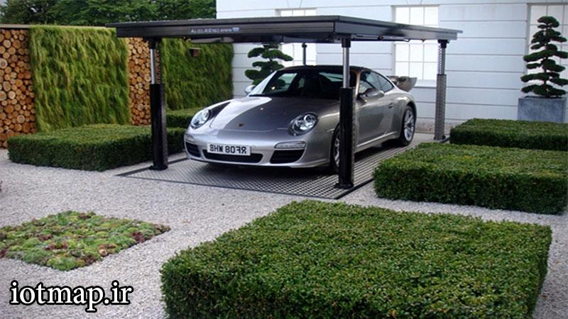 سیستم-پارکینگ-در-خانه-iotmap.ir