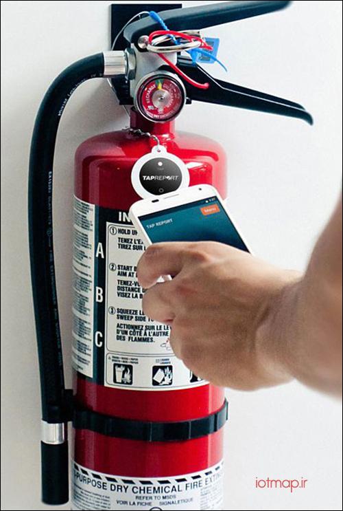 آشنایی با کپسول های آتش نشانی هوشمند