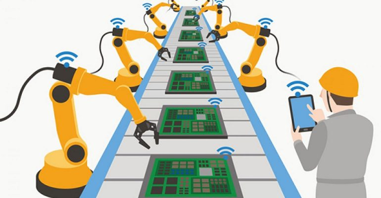 کاربردهای اینترنت اشیا در صنعت