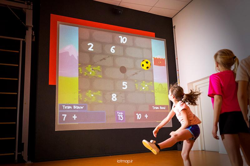 فناوری دیوار هوشمندمناسب بازی کودکان