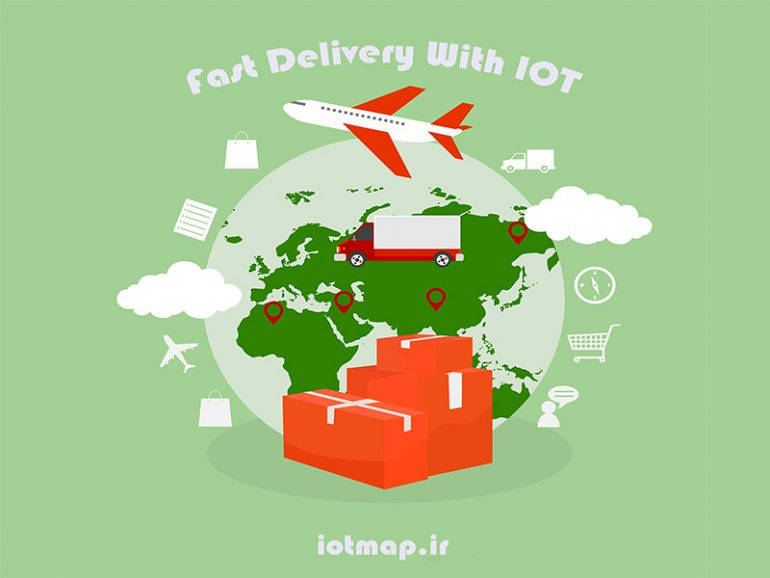 Delivery with iot