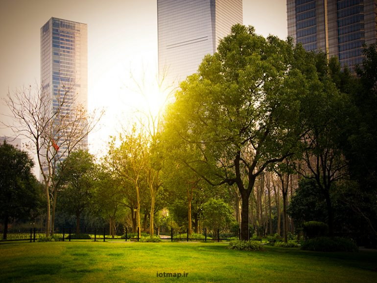 آشنایی با مدیریت هوشمند فضای سبز شهری