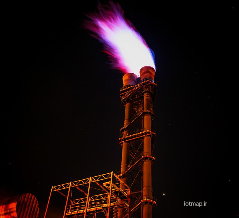 مدیریت انرژی گاز و اینترنت اشیا