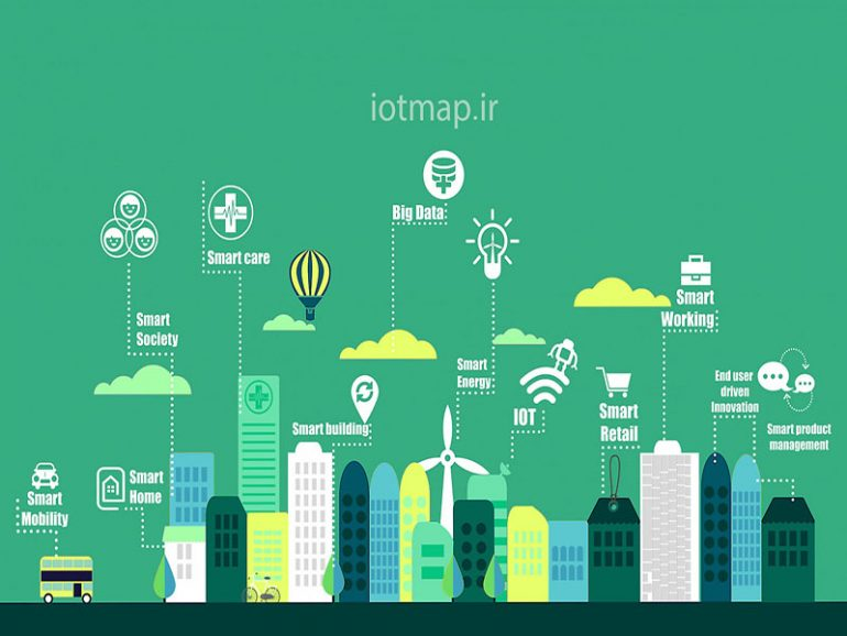 عوامل ایجاد شهر هوشمند