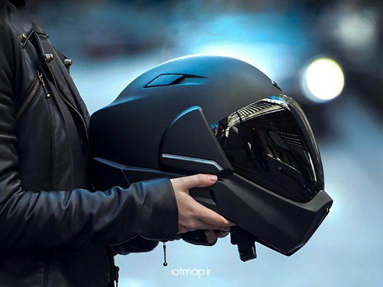 کلاه ایمنی هوشمند موتور سواران