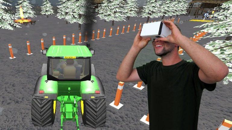 واقعیت مجازی در توسعه کشاورزی