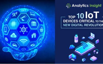 10 دستگاه برتر اینترنت اشیا مهم برای انقلاب دیجیتال جدید